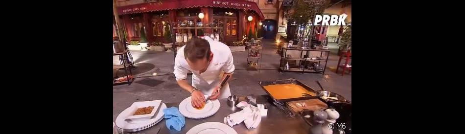 Top Chef 2015 : Jérémy Moscovici encore critiqué par les internautes sur Twitter pendant   l'épisode 3 diffusé le 10 février, sur M6