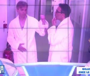 Gilles Verdez et Julien Courbet devaient se rendre dans le bureau du patron de D8 nus