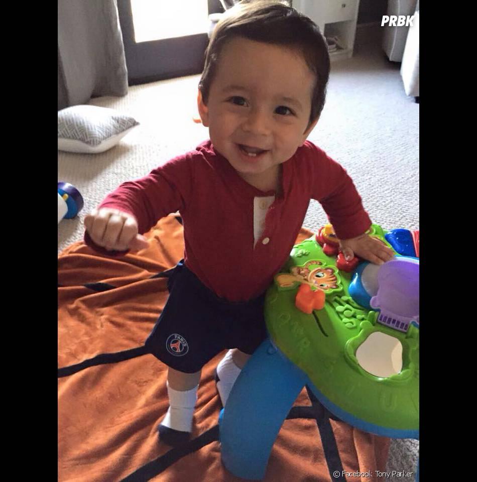 Tony Parker : son fils Josh adorable sur Facebook, le 10 février 2015