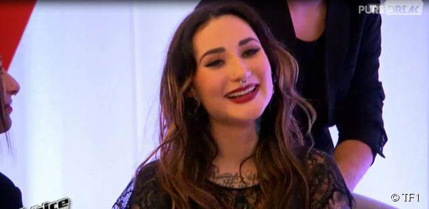The Voice 4 : Amélie Piovoso, un talent au passé difficile