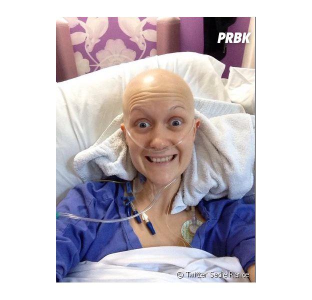Sadie Rance a détecté son cancer sur Internet