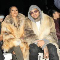 Chris Brown et Karrueche Tran en couple et en fourrures : la PETA attaque violemment