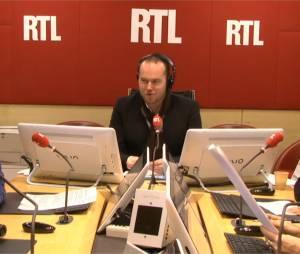 Philippe Corbé a reçu la visite de Bruno Guillon sur RTL, le 18 février 2015