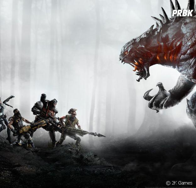 Evolve est disponible sur Xbox One, PS4 et Pc depuis le 10 février 2015