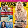 Caroline Receveur topless et sexy en couv' du magazine Entrevue de juin 2011