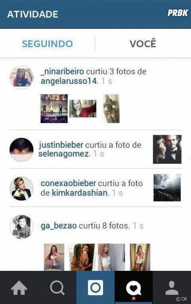 Justin Bieber like une photo de Selena Gomez et Zedd sur Instagram