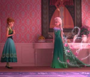 La Reine des neiges - une fête givrée : Anna et Elsa, les deux soeurs en photo