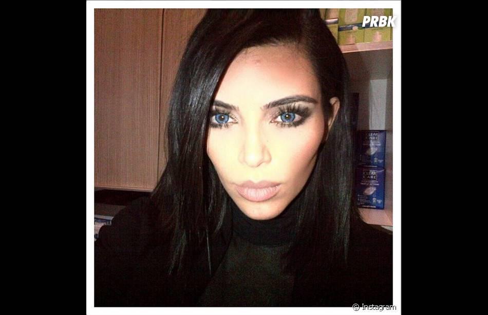 Kim Kardashian : l'un de ses selfies - surexposés - partagé sur Instagram