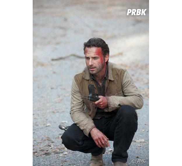 Andrew Lincoln dans la saison 2 de The Walking Dead