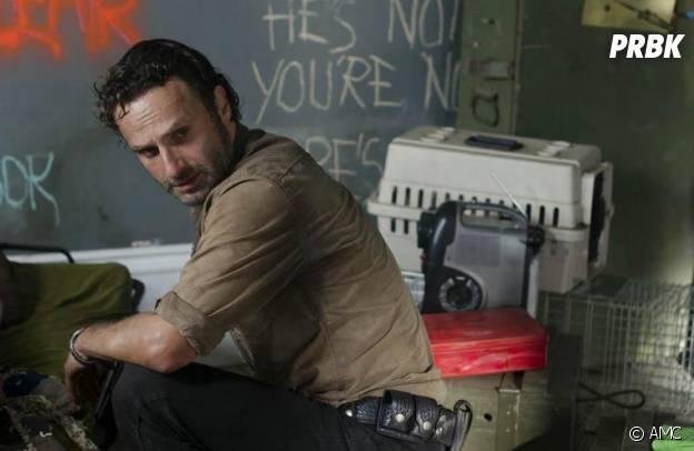 Andrew Lincoln dans la saison 3 de The Walking Dead