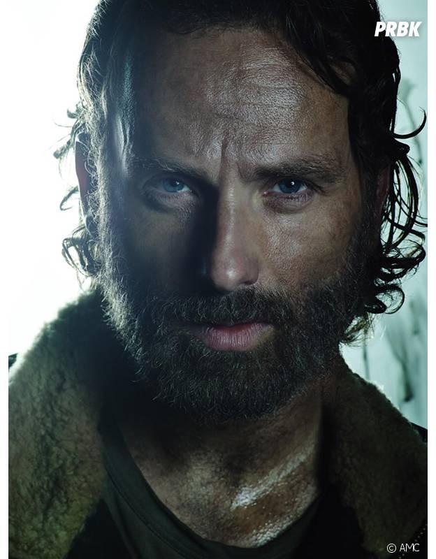 Andrew Lincoln dans la saison 5 de The Walking Dead