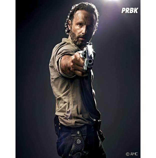 Andrew Lincoln dans la saison 4 de The Walking Dead