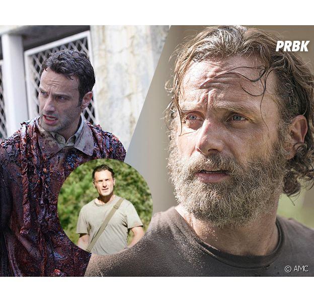 The Walking Dead saison 5 : l'évolution de la barbe de Rick
