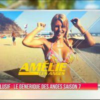 Les Anges 7 : Amélie Neten, Jessica, Coralie.. le générique sexy des candidats