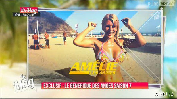 Les Anges 7 : Amélie Neten en bikini dans le générique
