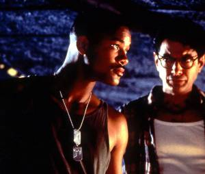 Independence Day : Will Smith et Jeff Goldblum dans le film