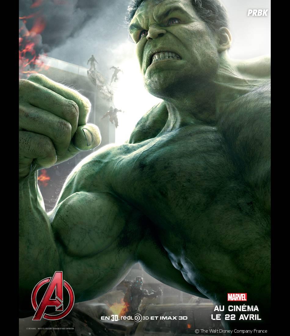 Avengers 2 : l'affiche de Hulk avec Mark Ruffalo