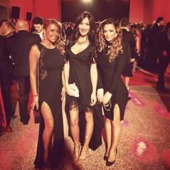 Emilie Nef Naf et Sidonie Biemont : soirée sexy entre Wags à Milan