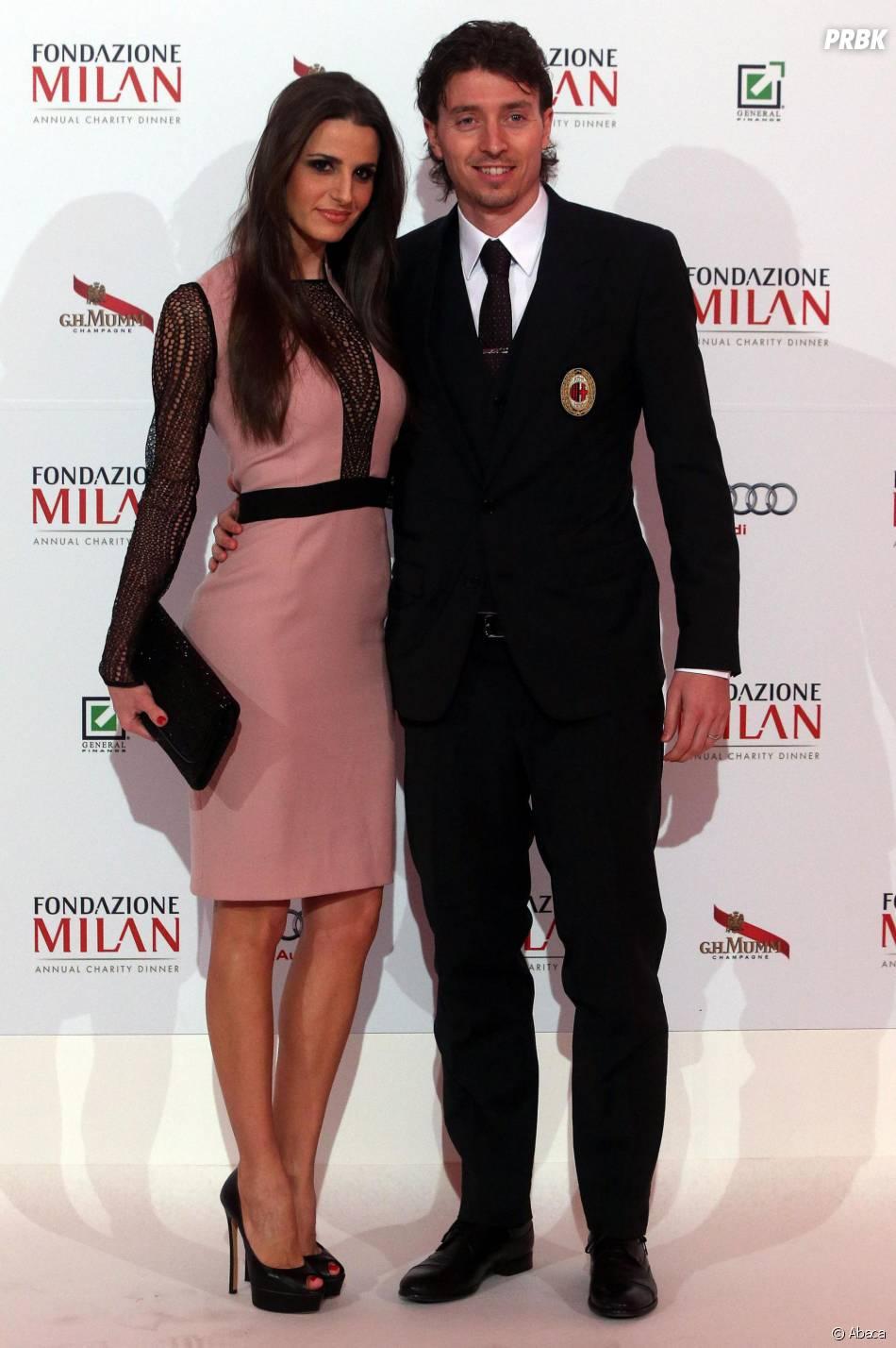 Les joueurs du Milan AC lors du gala annuel de la Fondazione Milan ce mardi 10 mars
