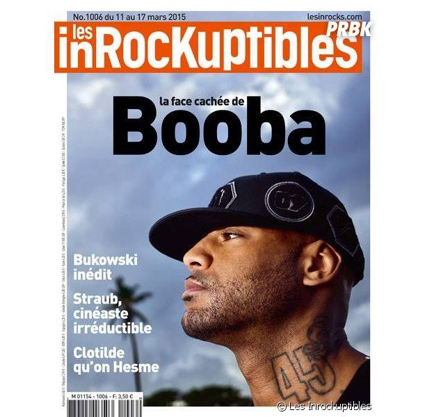 Booba : portrait fleuve et Une des Inrockuptibles, le 11 mars 2015