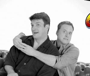 Nathan Fillion et Alan Tudyk présentent Con Man