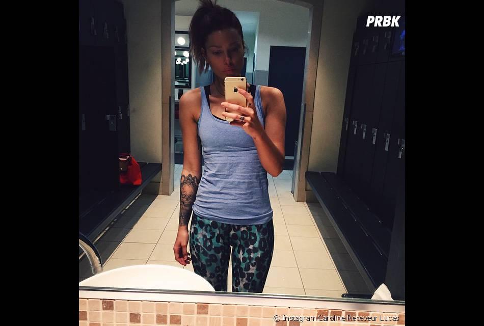 Caroline Receveur avant de partir à Dubaï, le 15 mars sur Instagram