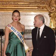 Camille Cerf : Miss France 2015 classe et glamour pour un dîner au Château de Versailles