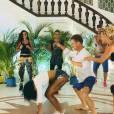 Les Anges 7 : Jessica sexy pendant une battle de danse lors de l'épisode 14 diffusé le 25 mars 2015, sur NRJ 12