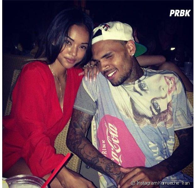 Chris Brown et Karrueche Tran séparés : Rihanna fautive ?