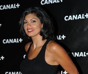Nawell Madani lors d'une soirée organisée par Canal+
