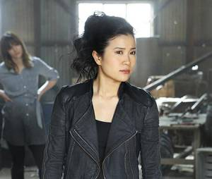 Scorpion saison 1 : Jadyn Wong (Happy) utilise Google pour comprendre son personnage