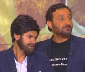 Jamel Debbouze imite Cyril Hanouna dans Touche pas à mon poste
