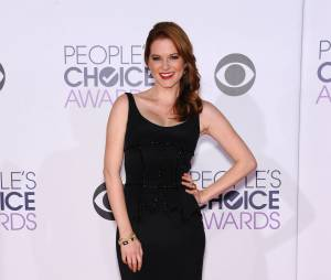 Sarah Drew (Grey's Anatomy) à la cérémonie des People's Choice Awards 2015