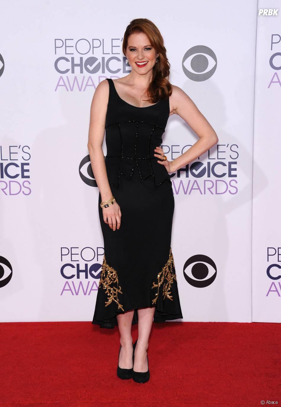 Sarah Drew (Grey's Anatomy) à la cérémonie des People's Choice Awards 2015
