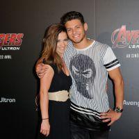 Rayane Bensetti et Denitsa Ikonomova très complices sur le tapis rouge d'Avengers 2