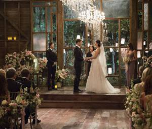 The Vampire Diaries saison 6, épisode 21 : photo du mariage de Jo et Alaric