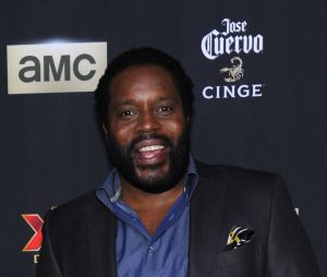The Walking Dead : Chad L. Coleman pète un blond dans le métro à New York le vendredi 1er mai 2015