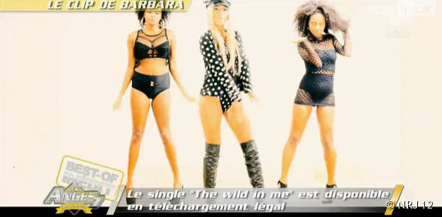 Barbara Lune (Les Anges 7) sexy dans son clip The Wild In Me