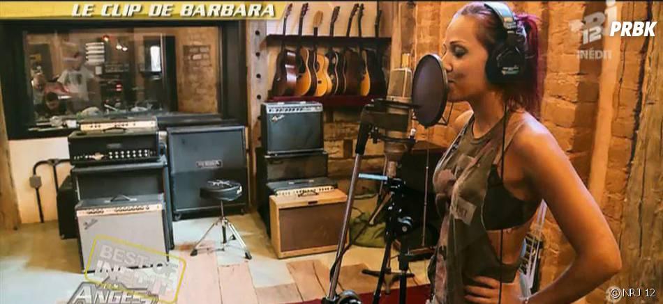 Barbara Lune (Les Anges 7) a enregistré un single à Rio