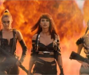 Taylor Swift : Bad Blood, le clip officiel avec Kendrick Lamar, Lena Dunham, Selena Gomez, Cara Delevigne, Karlie Kloss, Ellie Goulding, Hailey William Ellen Pompeo, Jessica Alba, Gigi Hadid et Cindy Crawford
