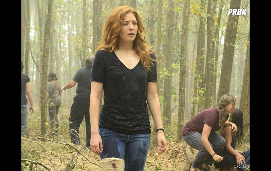Under the Dome saison 3, épisode : Julia (Rachel Lefèvre) sur une photo