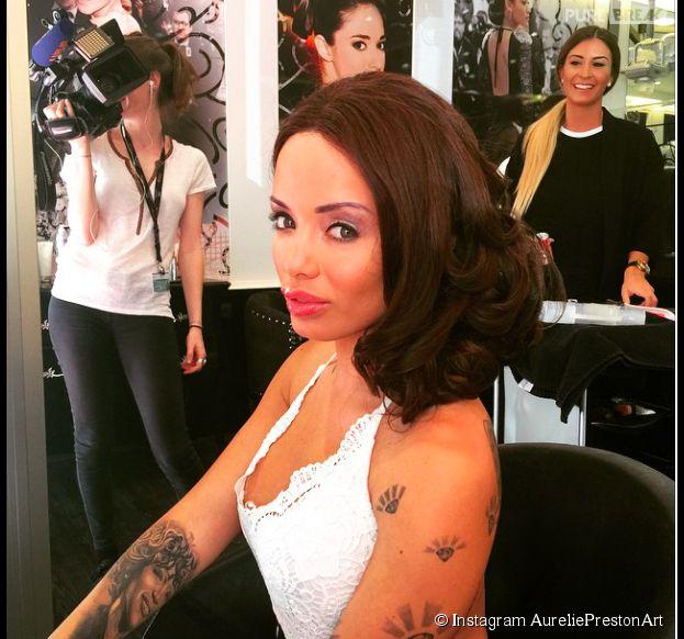 Aurélie (Les Marseillais en Thaïlande) : coiffure et maquillage avant le tapis rouge de Cannes 2015