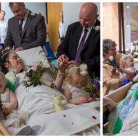 Tragique : à 36 ans, elle se marie sur son lit de mort à l'hopital... Son histoire est bouleversante