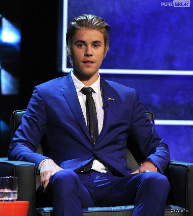Justin Bieber sur le tapis-rouge du Comedy Central Roast le 14 mars 2015
