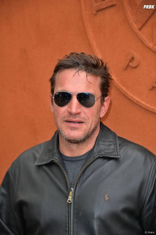 Benjamin Castaldi au Village Roland Garros le 2 juin 2015