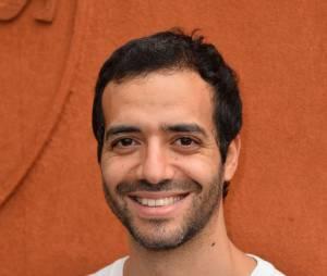 Tarek Boudali au Village Roland Garros le 2 juin 2015
