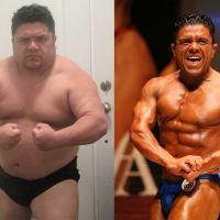 Génial : vexé par sa fille qui le trouvait trop gros, il perd 40kg et devient bodybuilder