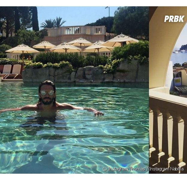 Thomas Vergara et Nabilla Benattia dans le même hôtel à Monaco le 5 juin 2015 ?