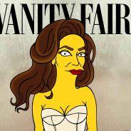 Caitlyn Jenner version Simpson : sa célèbre couverture pour Vanity Fair détournée