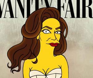 Caitlyn Jenner en Simpson dans une nouvelle série de détournements de l'artiste aleXsandro Palombo